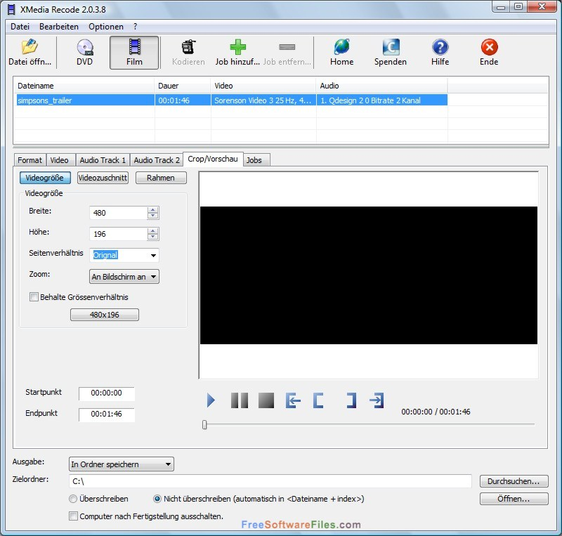 XMedia Recode 3.3.7.8 Direct Link Download