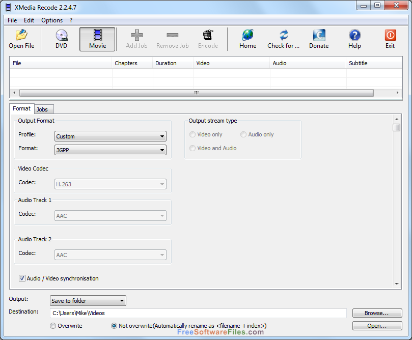 XMedia Recode 3.3.7.8 Latest Version