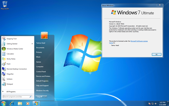 windows 7 ultimate free download full version 64 bit