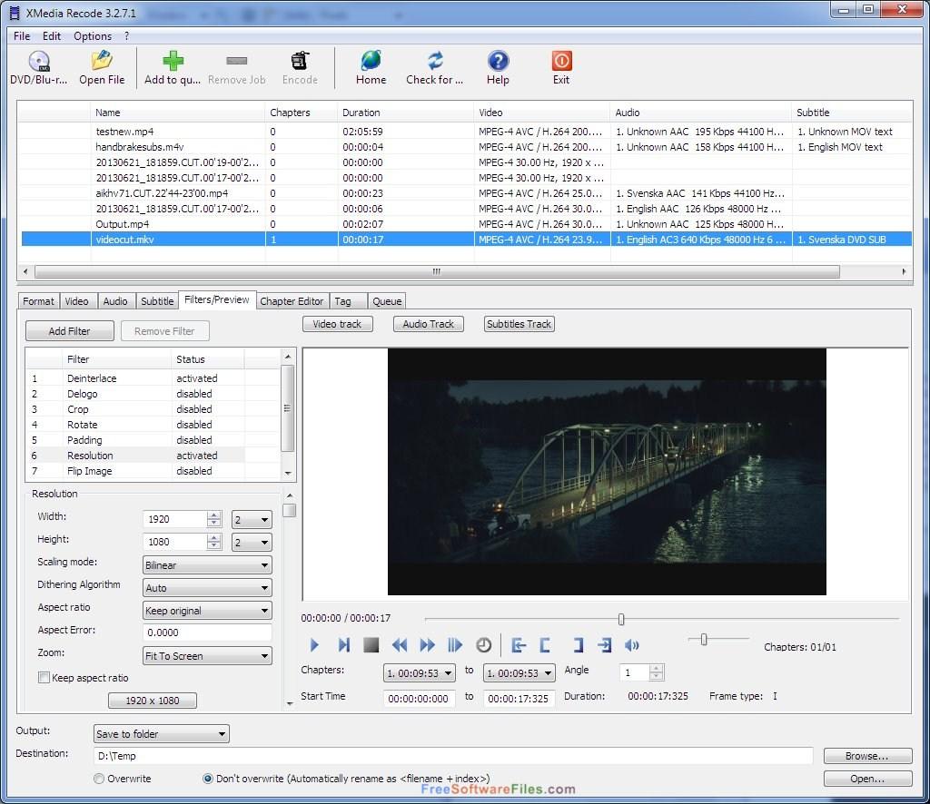 xmedia recode portable