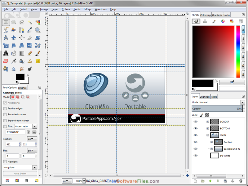 GIMP Portable free download full version