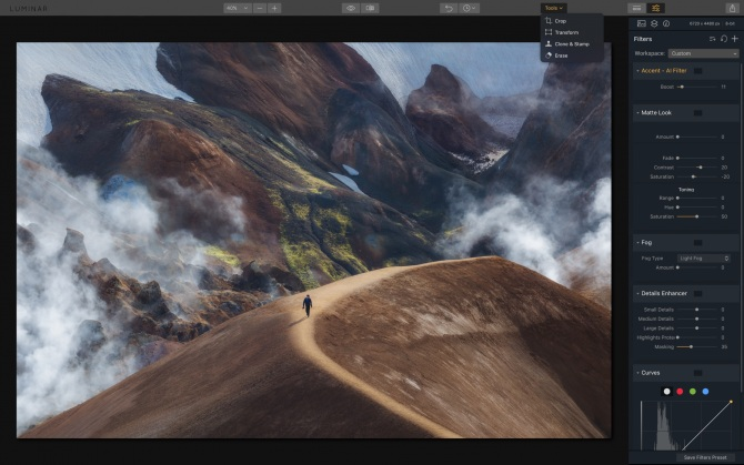 Luminar 2018 for Mac Direct Link Download