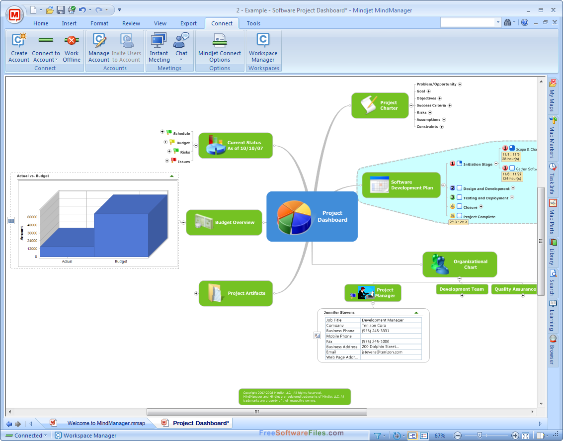 mindjet mindmanager templates download