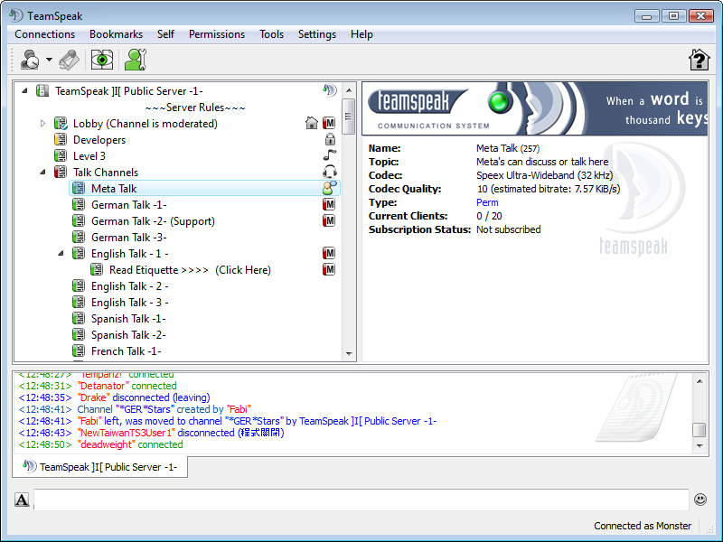 TeamSpeak Client 3.1.7 free download full version