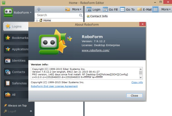 AI RoboForm Enterprise 7.9 Direct Link Download