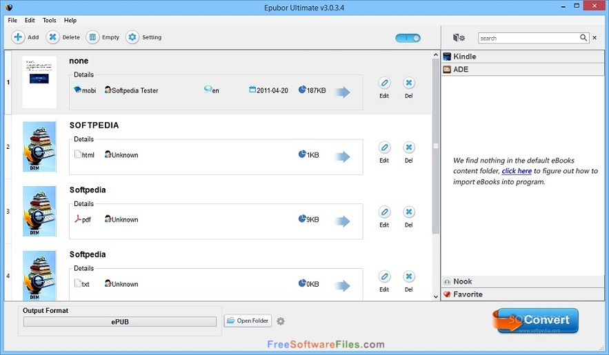 Epubor eBook Converter free download full version