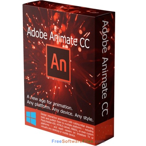Adobe Animate CC 2018 Portable Free Download