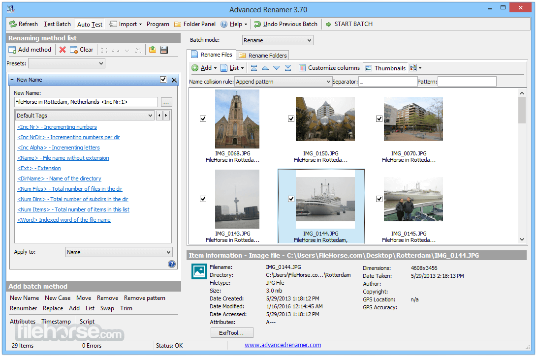 Advanced Renamer 3.81 free download full version