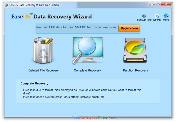 EaseUS Free Photo Recovery Offline Installer Download