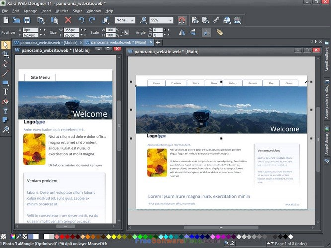 Xara Web Designer Premium 15 free download full version