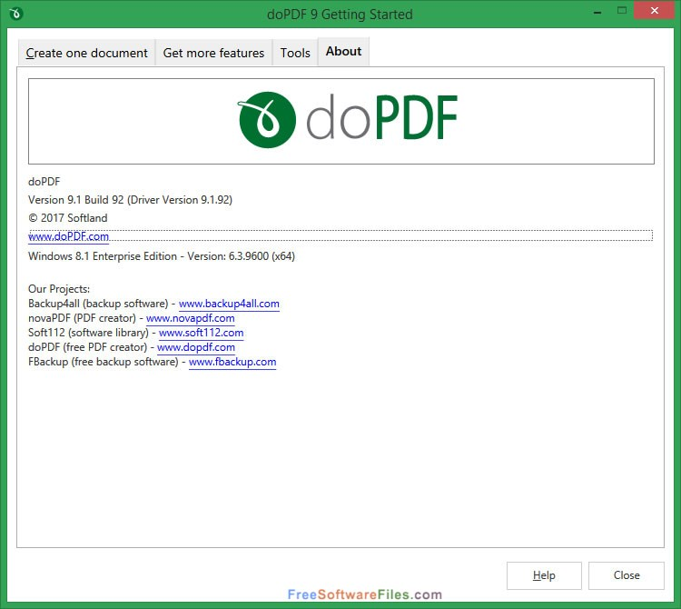 doPDF 9.0 Build 225 Offline Installer Download