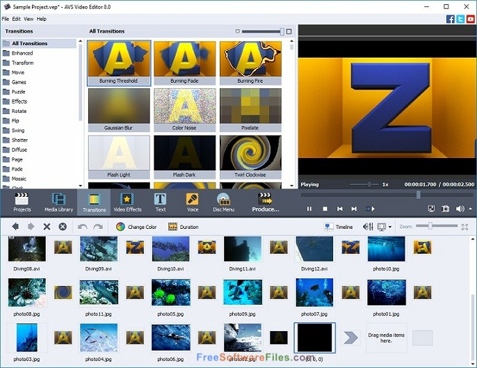 AVS Video Editor 7.3 Offline Installer Download