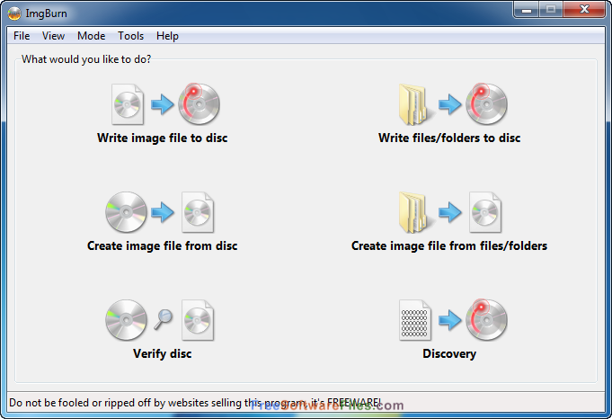 ImgBurn 2.5.8.0 Free Download Latest Version