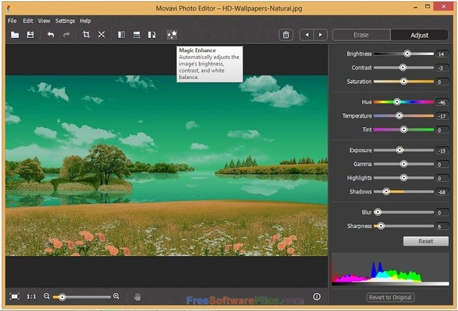 Movavi Photo Editor 5 Offline Installer Download