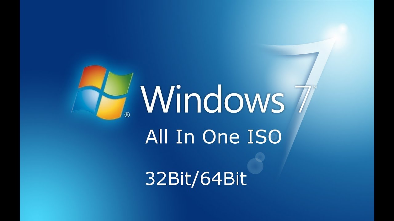 Windows 7 All in One ISO 2018