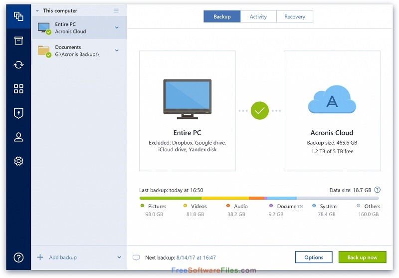 Acronis True Image 2018 free download full version