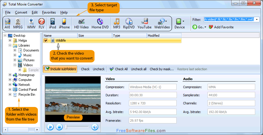 CoolUtils Total Movie Converter 4.1 Portable free download full version