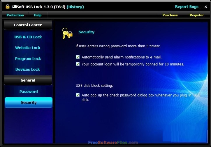 GiliSoft USB Lock 6.6 free download full version