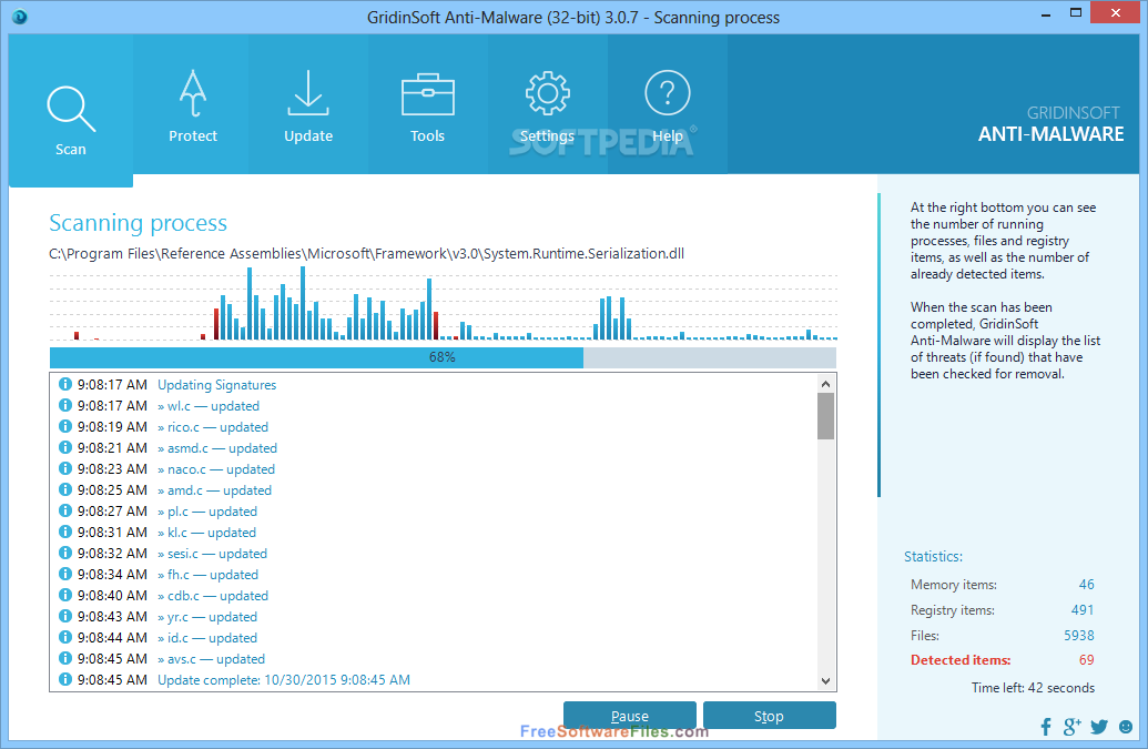 GridinSoft Anti-Malware 3.0.56 free download full version