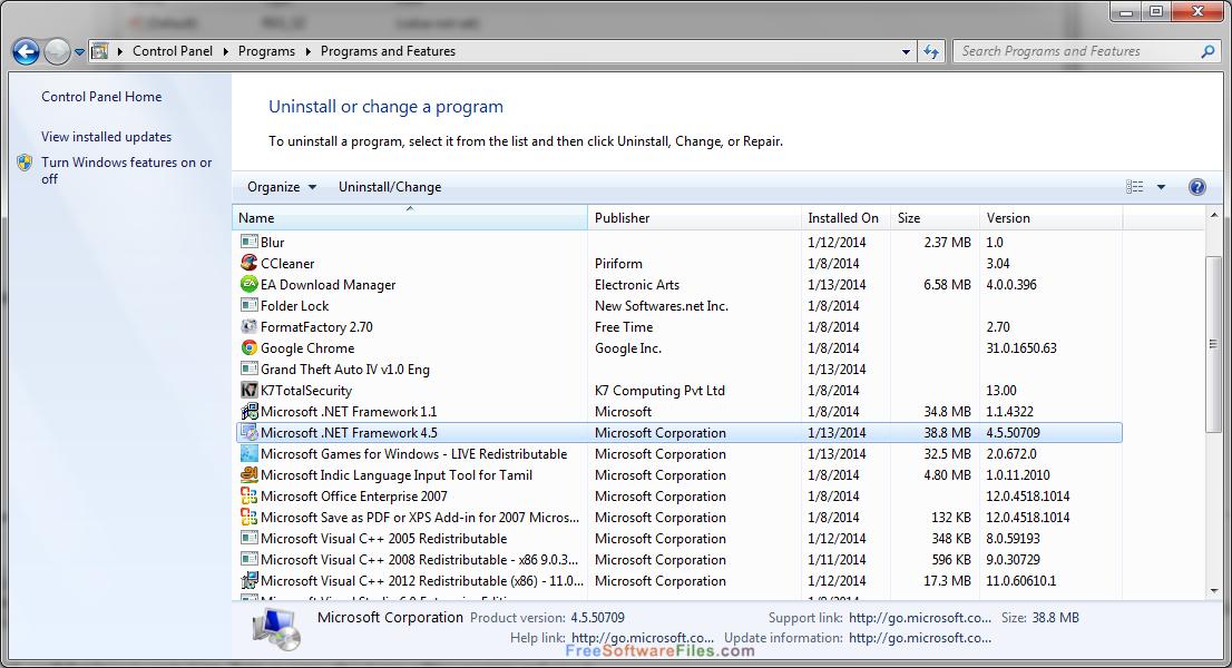 NET 4.5.1 TÉLÉCHARGER FRAMEWORK