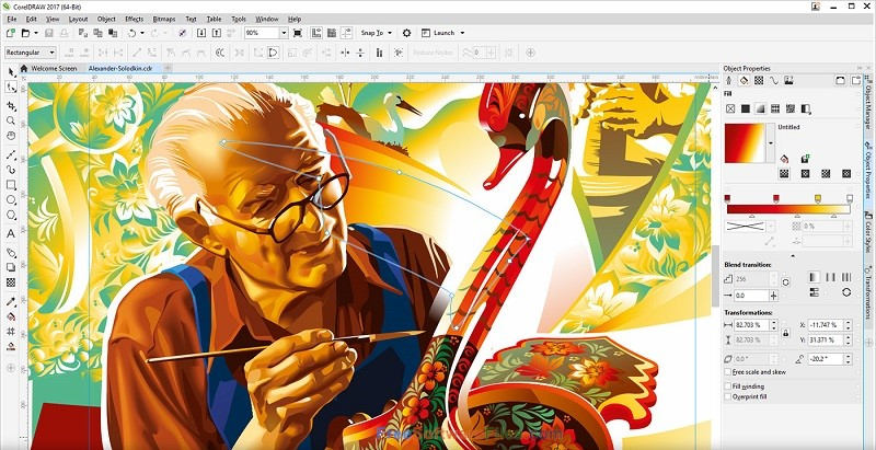 Portable CorelDRAW Graphics Suite 2017 Offline Installer Download
