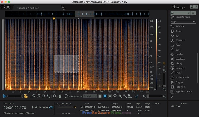 iZotope RX 6 Advanced Audio Editor Offline Installer Download