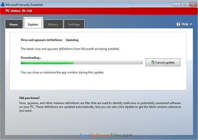 microsoft security essentials for windows 7