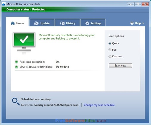 microsoft security essentials windows 10