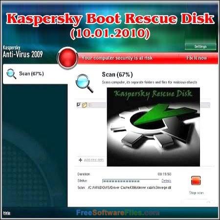 Kaspersky Rescue Disk 10.0.32.17 Offline Installer Download