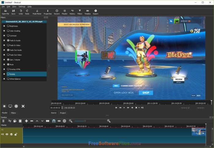 Shotcut 18.05.03 Latest Version Download