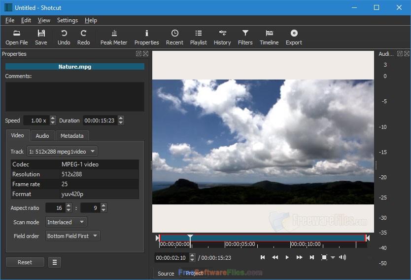 Shotcut 18.05.03 free download full version