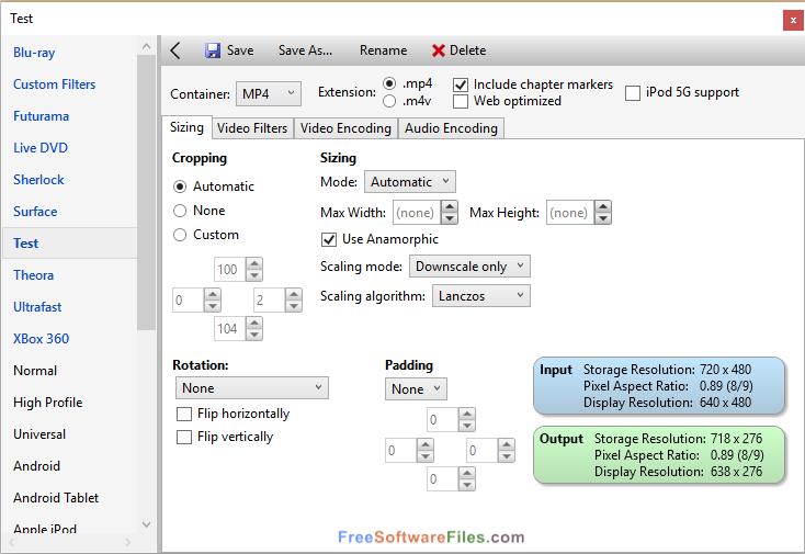 VidCoder 3.14 Free Download for Windows