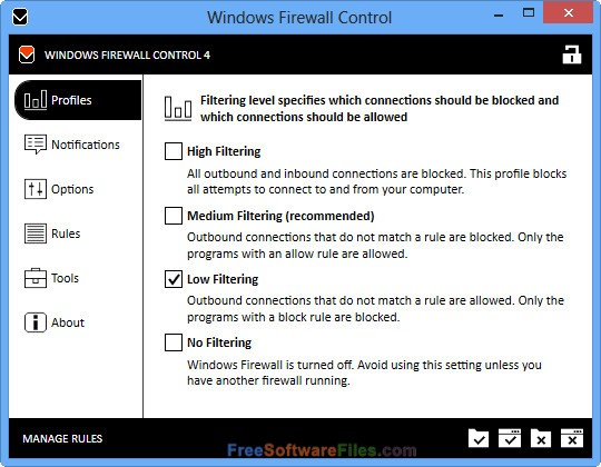 Windows Firewall Control 5.1 Offline Installer Download