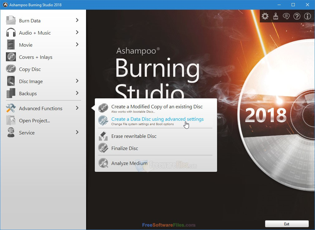 Ashampoo Burning Studio 2018 free download full version