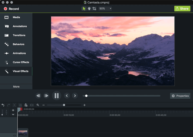 Camtasia Studio 2018 Free Download for Windows PC