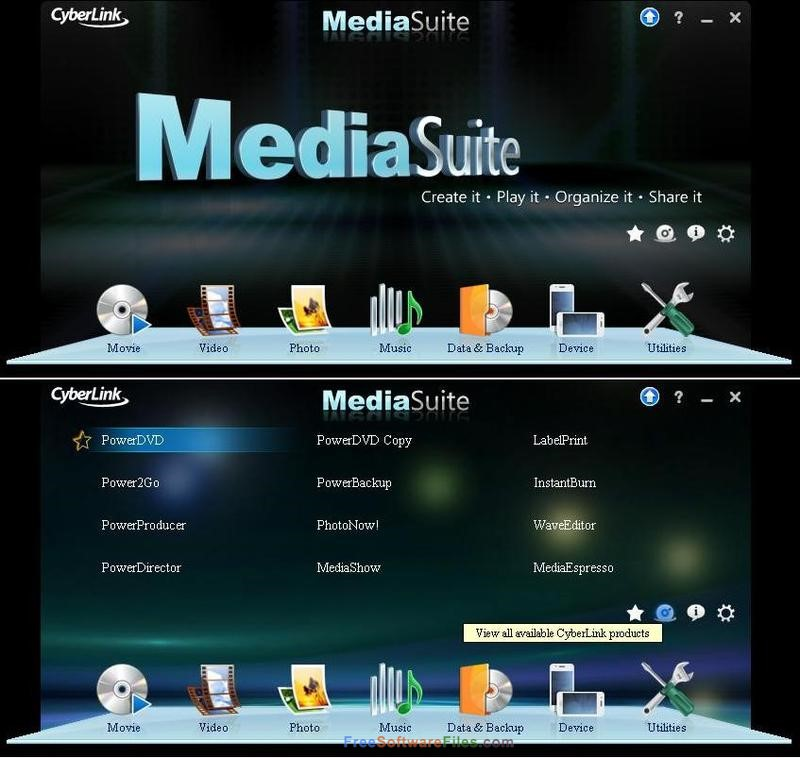 CyberLink Media Suite Ultra 15.0 free download full version