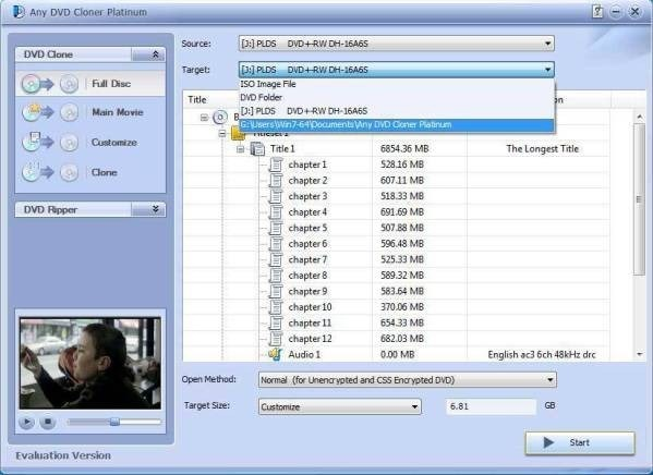 DVD-Cloner 2018 Free Download for Windows PC