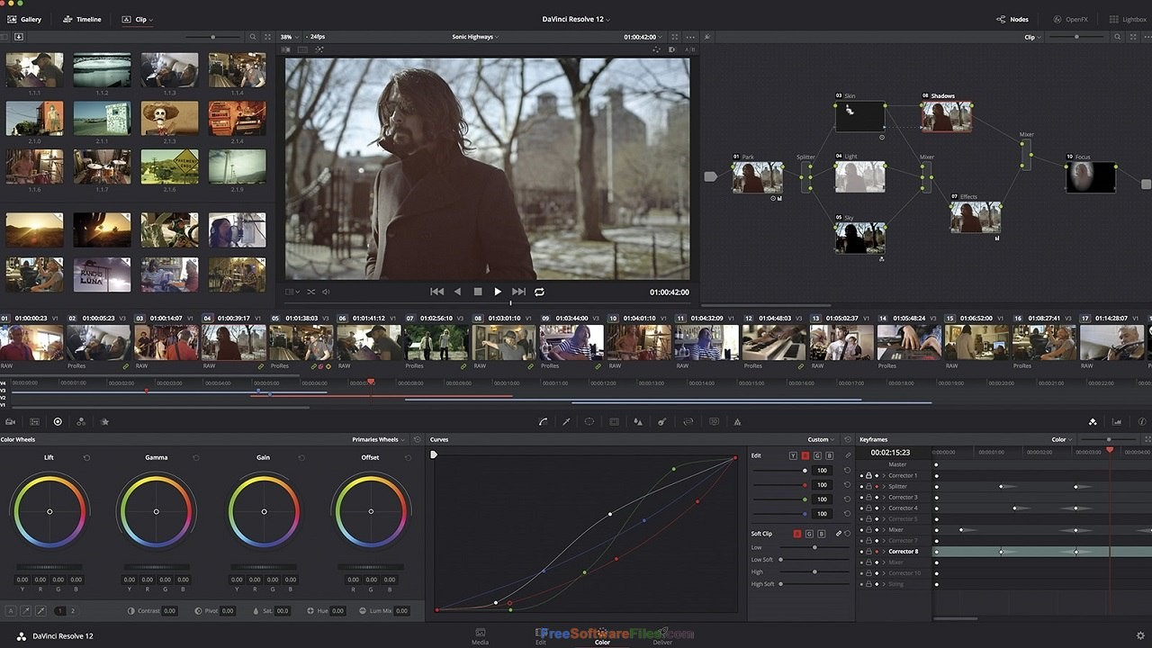 DaVinci Resolve Studio free video editor
