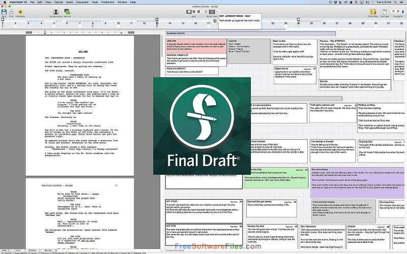 Final Draft 10.0.6 free download full version