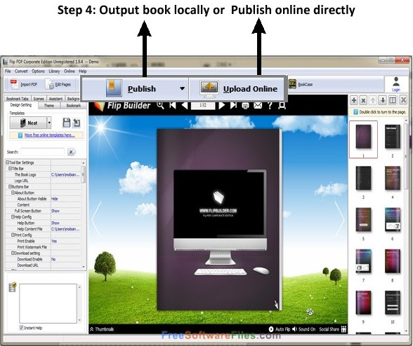 Flip PDF Corporate Edition 2.4 Free Download for Windows PC