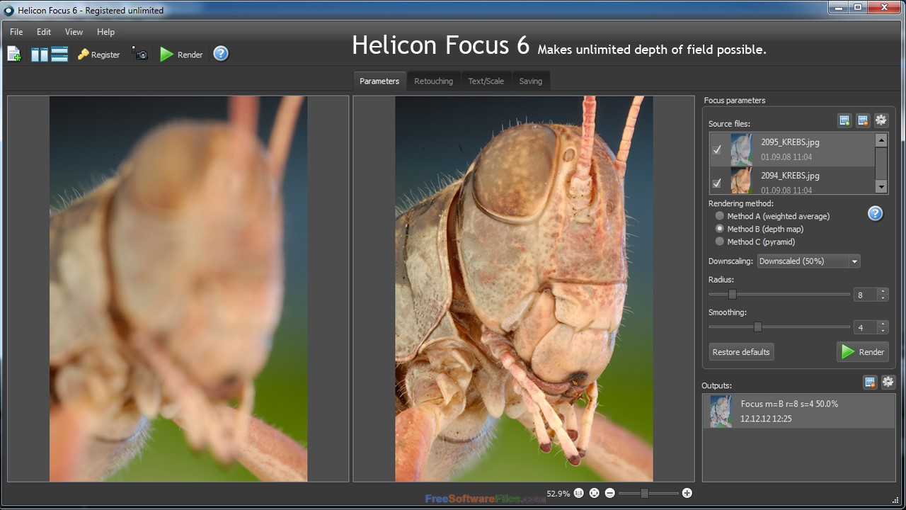 Helicon Focus Pro 6.7 free download full version