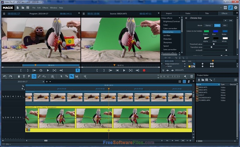 MAGIX Video Pro X 16.0 Offline Installer Download