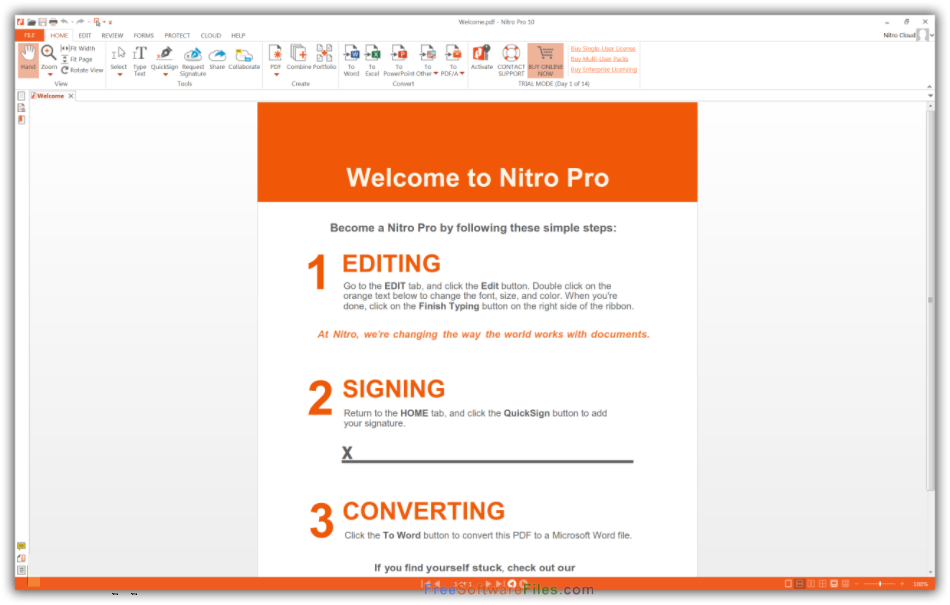 Nitro Pro Enterprise 12 free download full version