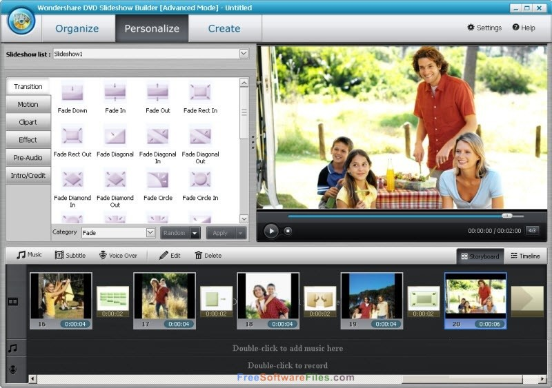 Wondershare DVD Slideshow Builder Deluxe 6.7 Free Download for Windows PC