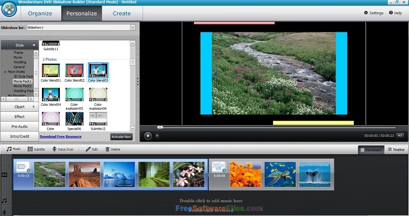 Wondershare DVD Slideshow Builder Deluxe 6.7 Offline Installer Download