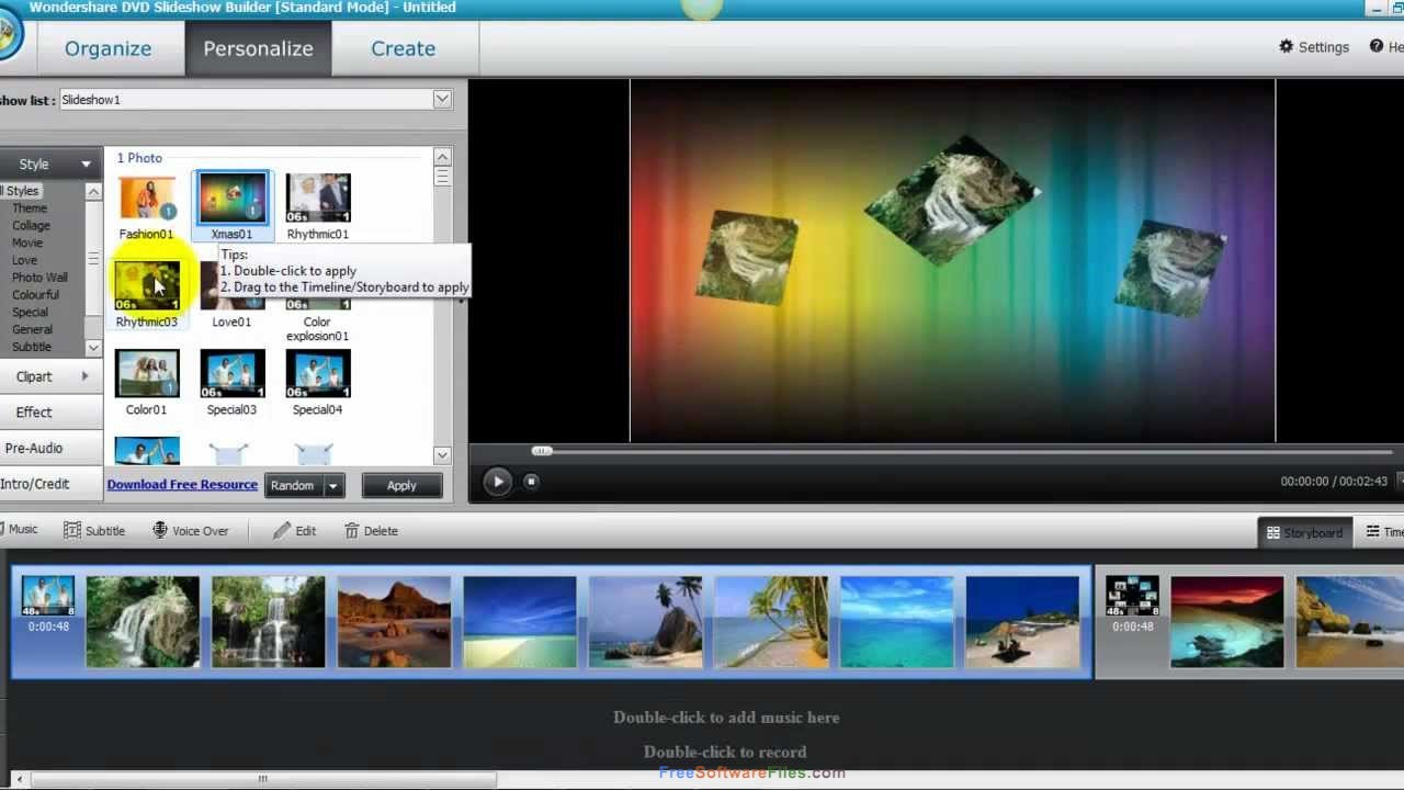 Wondershare DVD Slideshow Builder Deluxe 6.7 free download full version