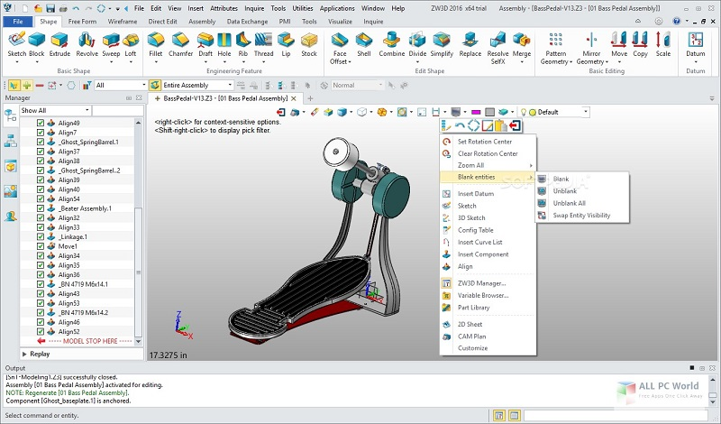 ZWCAD ZW3D 2018 Free Download for Windows PC