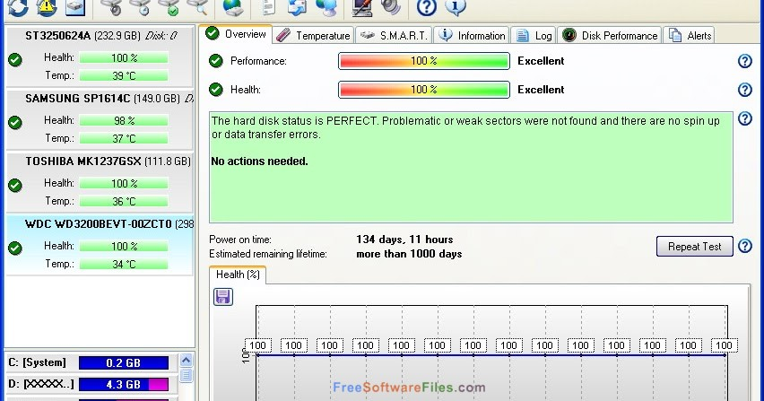 Hard Disk Sentinel Pro 5.30 Direct Link Download