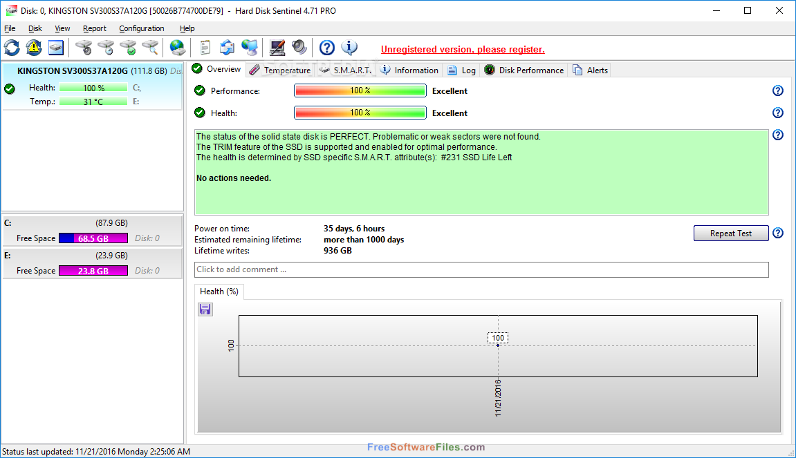 Hard Disk Sentinel Pro 5.30 free download full version