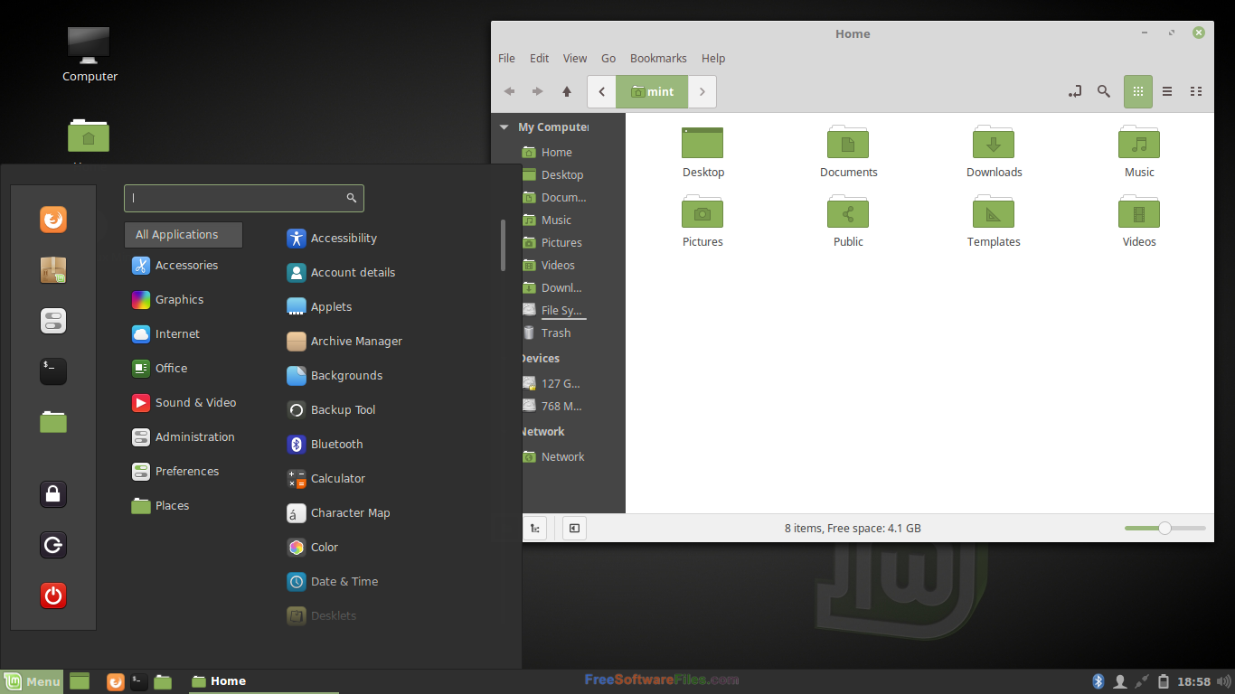 Linux Mint 19 free download 32bit and 64bit version